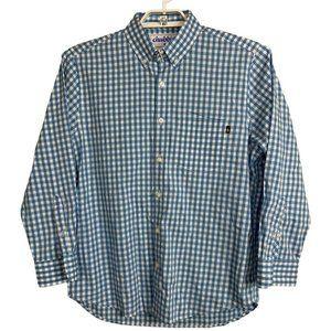 Chubbies Button Down Long Sleeve Plaid Shirt